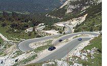 Motorradfahren Alta Badia für Bikers 3cime
