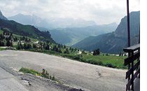 Motorradfahren Alta Badia für Bikers groedner joch