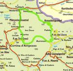 Motorradfahren Alta Badia für Bikers sextner dolomitenthumb
